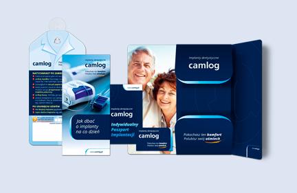 Implanty Camlog – materiały promocyjne